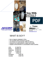 Soy milk Production