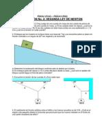 Discusion 2 Segunda Ley de Newton