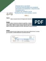 Programación en java POO básico, guía