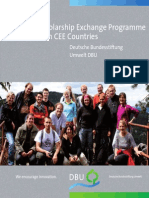 Scholarship Exchange Programme With CEE Countries