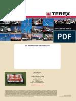 ESPECIFICACIONES DE GRUAS TEREX TODO TERRENO LENTAS