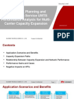 RF Network Planning and Optimization Service UMTS Performance Analysis for Multi-Carrier Capacity Expansion 01-En