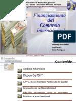 Financiamiento Comercio Internacional