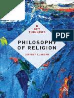 Philosophy of Religion - The Key Thinkers by Jeffrey L. Jordan (2011) {VTS}