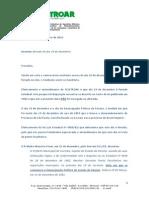 Ofício Para Empresas Sobre Feriado Dia 19-12-2014