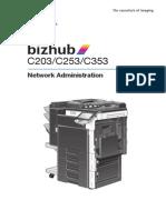 Bizhub c203 c253 c353 Network Admin Guide