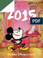 Disney Calendar 2015