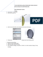 Tutorial Membuat Dan Mensimulasikan Pressure Vessel Design