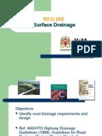 REG 265-Surface Drainage