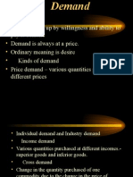 4.Law of demand,