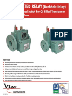 Buchholz Relays for Power Transformers