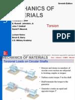 Torsion Mechanics of Material