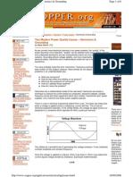 Electrical Power Quality - Harmonics & Grounding