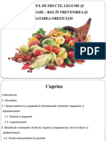 Consumul de Fructe, Legume Și Leguminoase –