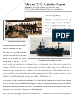 Friend Ships February 2015 Activities Report