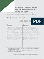 González Cifuentes-Historia Intelectual, Historia de Los Intelectuales