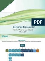 Corporate Presentation - Bank of America Merrill Lynch
