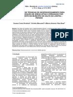 UTILIZAÇÃO DE TÉCNICAS DE GEOPROCESSAMENTO PARA CARACTERIZAÇÃO DE ÁREAS APTAS À IRRIGAÇÃO POR GOTEJAMENTO NO MUNICÍPIO DE SALTO DO LONTRA – PARANÁ