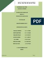 PROCESO DE PLANIFICACIÓN