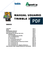 Trimble 3600 Dr Usuario