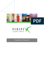 46'Perspex' Properties
