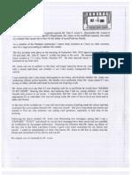 Sept. 30, 2010 Hillary Complaint