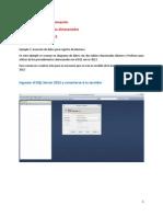 Tutorial Procedimientos Almacenados SQL2012