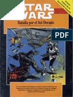 Star Wars -  Batalla Por El Sol Dorado