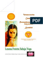 Lesona Fototra 1 Sahaja Yoga, Desambra 2014