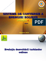 4. Evolutia turbinelor.