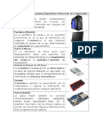 Álbum de Los Principales Dispositivos Físicos de Un Computador
