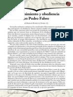 Discernimiento y obediencia en Pedro Fabro.pdf