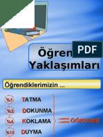 Öğrenme Yaklaşımları (FORMASYON DERSLERİ)