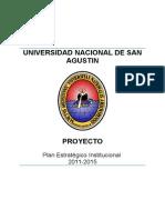 PLAN ESTRATEGICO UNSA PEI 2011-2015 (proyecta  final) 17-11-2011.doc