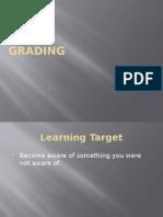 grading presentation