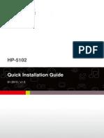 Hp-5102 Qig en(English)