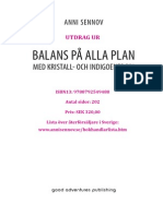 Balans På Alla Plan med kristall och indigoenergin SE