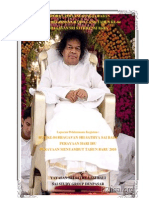 Laporan Hut Bhagavan Sri Sathya Sai Baba Ke 84 Ssg Denpasar