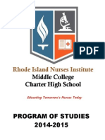 rini program of studies 2014-2015 final