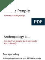 forensic anthropology eddie