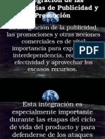 Integración Publicitaria y Promocional