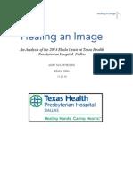 healing an image - ebola case analysis