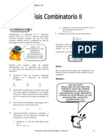IV Bim - 5to. Año - Raz. Mat. - Guía 3 - Analisis Combinator
