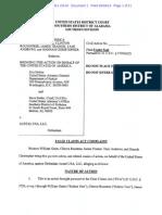 Austal Overbilling Complaint
