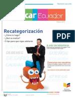 Primera Edición Revista Educar - Ecuador