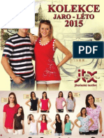 JTX Katalog Jaro Léto 2015