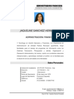 Hoja de Vida Jaqueline Sanchez Hernandez Villavicencio[1]