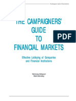 Campaigners Guide to Financial Markets