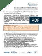 Terminologia a Emplear en Educacion Especial