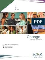 SCNM 2012-2013 Course Catalog